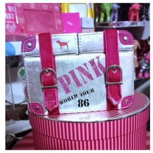 Vintage rare vs pink jewelry box